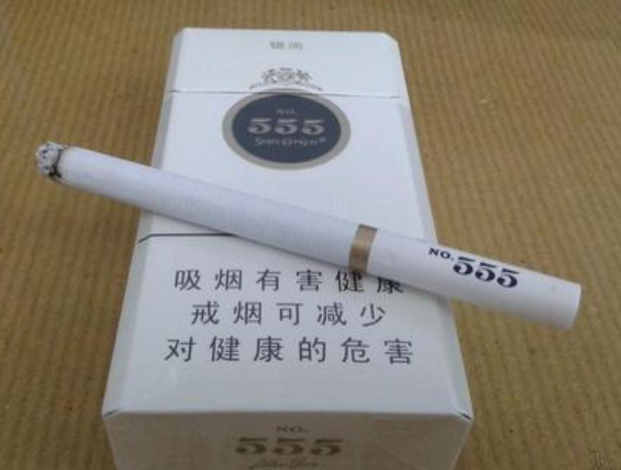 555烟铁盒