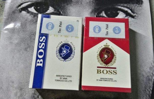黑色boss老板烟多少钱