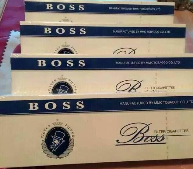 蓝色boss老板烟多少钱一包