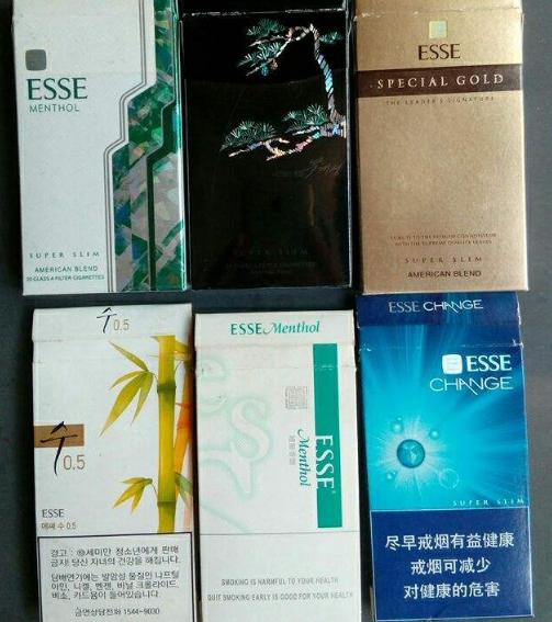 为何喜欢esse(爱喜)这个烟