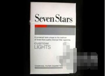 七星(醇) 俗名: Seven Stars LIGHTS价格表图片