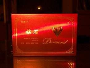 钻石红石2代烟图片