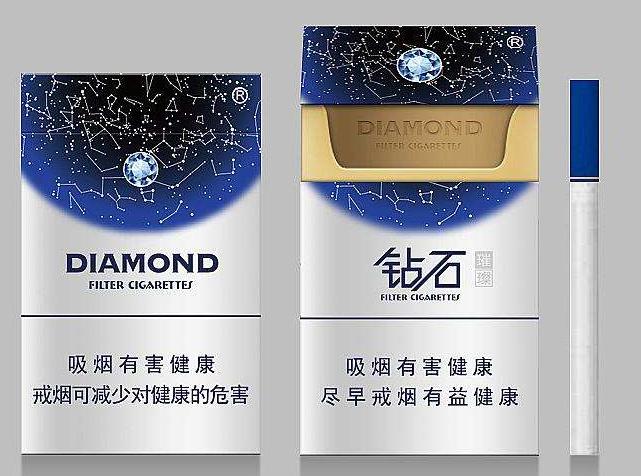 钻石烟银价格表和图片及价格