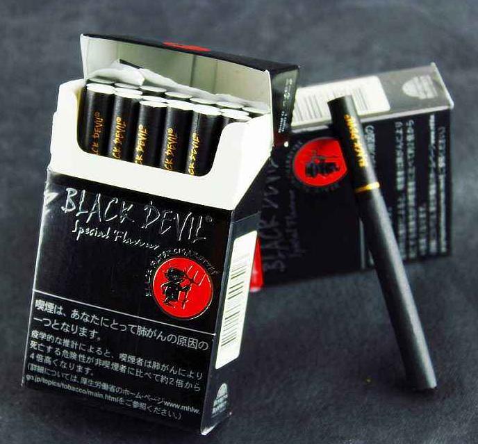 巧克力味的烟Black Devil黑魔鬼
